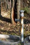 Vecchio acqua di pozzo Fotografia Stock