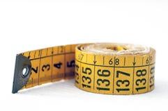 Vecchio adattamento di misura di nastro Fotografia Stock Libera da Diritti
