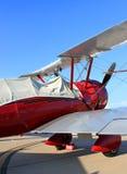 Vecchio aereo di elica Immagini Stock