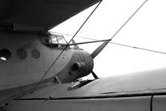 Vecchio aeroplano Immagine Stock Libera da Diritti