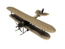 Vecchio aeroplano Be2 Fotografie Stock