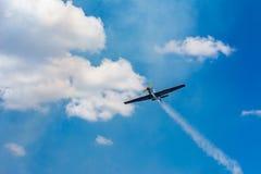 Vecchio aeroplano dell'elica Immagine Stock