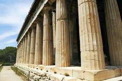 Vecchio agora a Atene Fotografia Stock