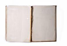 Vecchio album aperto foto/del libro Immagine Stock Libera da Diritti