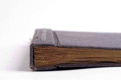 Vecchio album aperto foto/del libro Fotografie Stock Libere da Diritti
