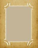 Vecchio album d'annata strutturato invecchiato del bordo di lerciume verticale della foto retro Fotografia Stock