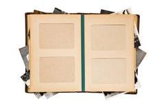 Vecchio album di foto Fotografia Stock Libera da Diritti