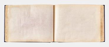Vecchio album di foto ingiallito per le foto immagine stock libera da diritti
