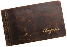 Vecchio album di fotografia Fotografie Stock
