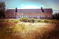 Vecchio alloggio militare Immagine Stock Libera da Diritti