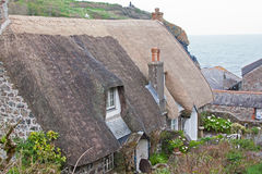 Vecchio alloggio in un paesino di pescatori Regno Unito Fotografie Stock