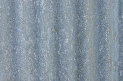 Vecchio alluminio ondulato Immagine Stock Libera da Diritti
