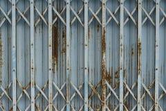 Vecchio allungamento d'acciaio della porta Immagine Stock Libera da Diritti