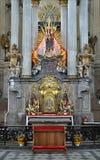 Vecchio altare barrocco Immagine Stock
