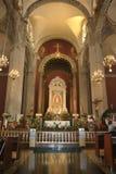 Vecchio altare della basilica Immagine Stock Libera da Diritti