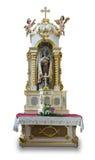 Vecchio altare della st Mary Fotografia Stock
