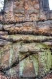 Vecchio altare di pietra nella foresta Immagine Stock Libera da Diritti