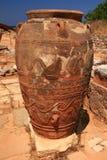 Vecchio amphora Fotografie Stock