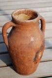 Vecchio amphora Fotografia Stock