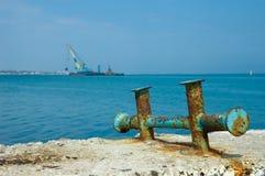 Vecchio ancoraggio Fotografie Stock Libere da Diritti