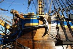 Vecchio ancoraggio Fotografia Stock