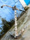 Vecchio ancoraggio Fotografie Stock