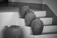 Vecchio antico del vaso fotografie stock
