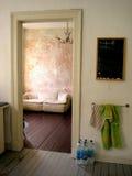 Vecchio appartamento Fotografia Stock