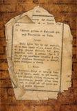 Vecchio archivio dalla bibbia Fotografie Stock