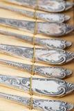 Vecchio argento Immagini Stock Libere da Diritti
