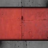 Vecchio arrugginito del fondo di struttura della ruggine marrone del metallo Immagini Stock Libere da Diritti