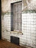 Vecchio asilo, 3D CG illustrazione vettoriale