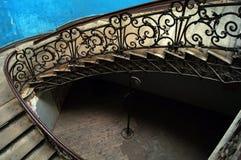Vecchio atrio di Tbilisi Fotografie Stock