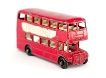 Vecchio autobus a due piani Immagini Stock Libere da Diritti