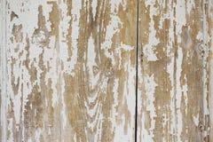 Vecchio backgorund di legno bianco Fotografie Stock