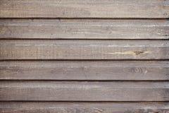 Vecchio backgorund di legno di Brown Fotografia Stock