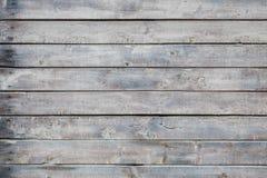 Vecchio backgorund di legno grigio Immagine Stock Libera da Diritti