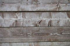 Vecchio backgorund di legno grigio Fotografia Stock Libera da Diritti