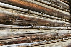 Vecchio backgroud di legno Fotografie Stock