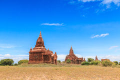 Vecchio Bagan in Bagan-Nyaung U, Myanmar Fotografia Stock Libera da Diritti