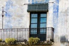 Vecchio balcone Immagine Stock