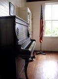 Vecchio banco Fotografia Stock