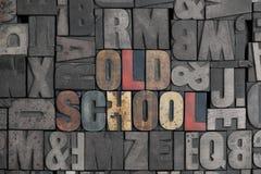 Vecchio banco Immagini Stock