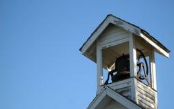 Vecchio banco Bell Fotografia Stock