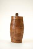 Vecchio barile di classe del vino Fotografie Stock Libere da Diritti