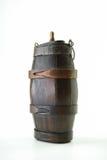 Vecchio barile di legno Fotografie Stock Libere da Diritti