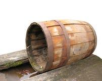 Vecchio barilotto - 2 Immagine Stock