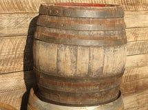 Vecchio barilotto Fotografie Stock