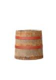 Vecchio barilotto di legno Immagini Stock
