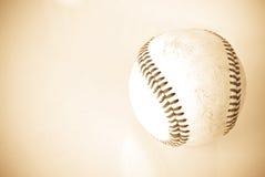 Vecchio baseball Fotografia Stock